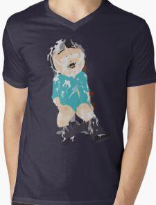 Drenched Mens V-Neck T-Shirt