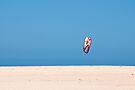 Kite, no surfer by Jason Ruth
