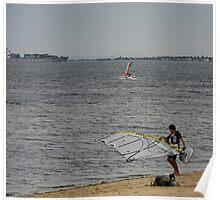 Elwood Beach #2 Poster