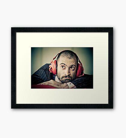Mr Muscular Framed Print
