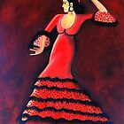 Flamenco Dancer by Janine Antulov
