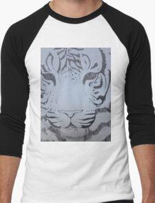 Ink pen tiger sketch Men's Baseball ¾ T-Shirt