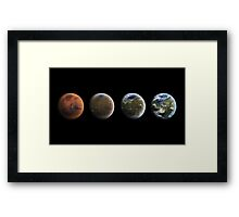 Road To The Red Planet Framed Print
