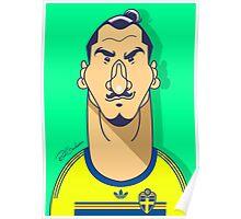 Zlatan Sweden Poster