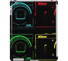 Nikon x 4 (PopArt) iPad Case/Skin
