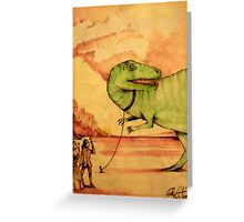 The Revolution Of Evolution  Greeting Card