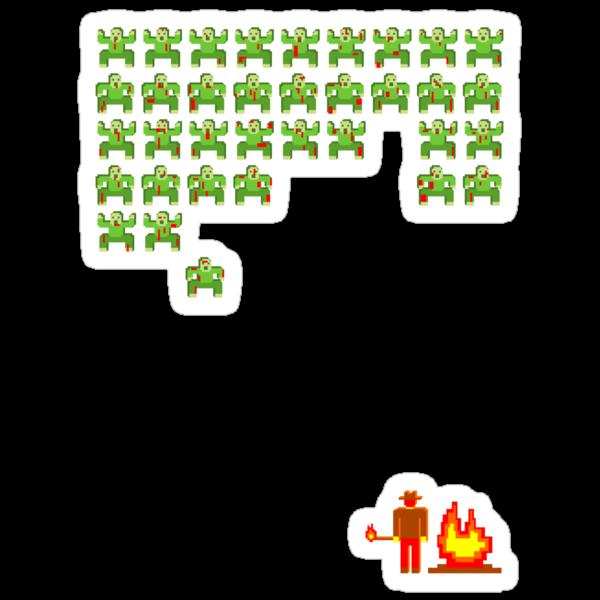 Zombie Invaders by robotrobotROBOT