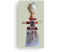 pin-up doll, 2010 Canvas Print