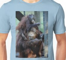 Orangutan Mom and Baby  Unisex T-Shirt