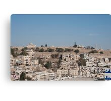 The Citadel, Amman Canvas Print