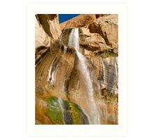 Lower Calf Creek Falls near Escalante Art Print