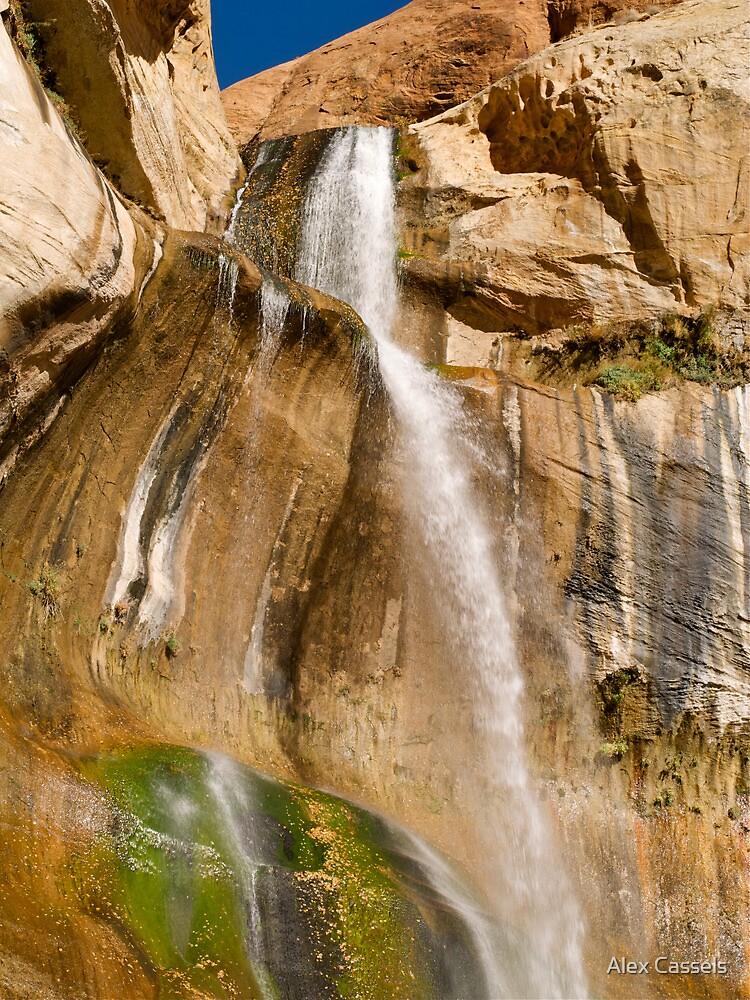 Lower Calf Creek Falls near Escalante by Alex Cassels