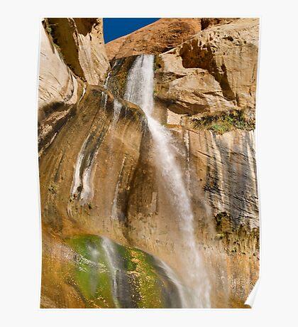 Lower Calf Creek Falls near Escalante Poster