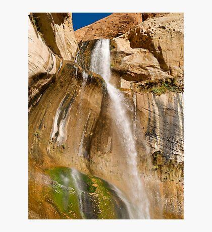 Lower Calf Creek Falls near Escalante Photographic Print