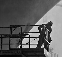 Working in the dry-dock by awefaul