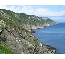 Lundy Island Coast Photographic Print