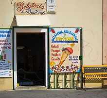 Gelateria in Sardinia by naranzaria