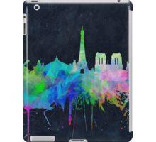 paris skyline abstract 9 iPad Case/Skin