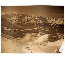 Verbier: Golden Moments of a Ski Adventure Poster