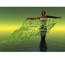 Fisherwoman Photographic Print