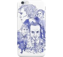 Sherlock Holmes Illustration iPhone Case/Skin