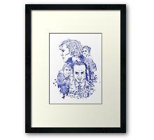 Sherlock Holmes Illustration Framed Print