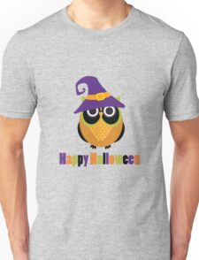 Super Cute Halloween Owl Unisex T-Shirt