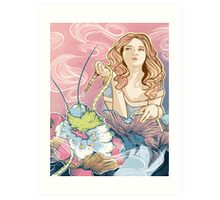 alice in wonderland Art Print