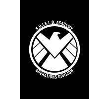 S.H.I.E.L.D. Academy Operations Division (white) Photographic Print