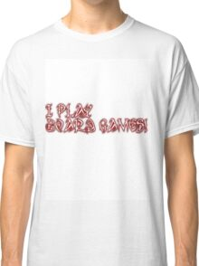 I play board games Classic T-Shirt
