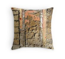 Brick Door - Tuscany, Italy Throw Pillow