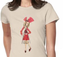 bows,2010 Womens Fitted T-Shirt