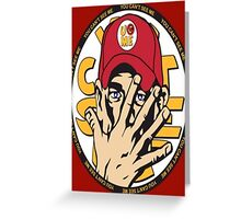 John Cena-U can't see me Greeting Card