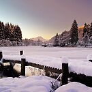 Winter&#x27;s Snow Over Loch Ard by Aj Finan