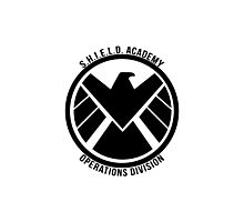 S.H.I.E.L.D. Academy Operations Division (black) Photographic Print