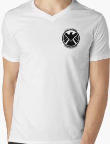 S.H.I.E.L.D. Academy Operations Division (black) Mens V-Neck T-Shirt