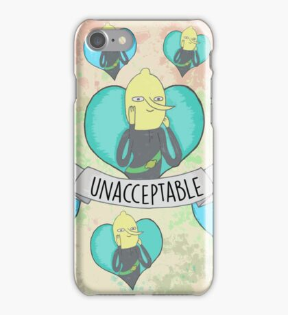 Lemongrab iPhone Case/Skin