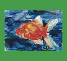 Goldfish One Piece - Short Sleeve