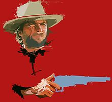 Clint Eastwood by Alberto Marinelli