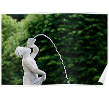 Fountain Statue Poster