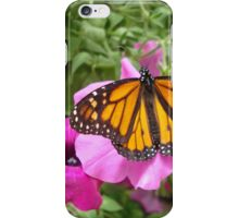 Monarch landing iPhone Case/Skin
