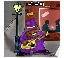 Blowin' on Bourbon Poster