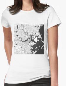 Boston Map Gray T-Shirt
