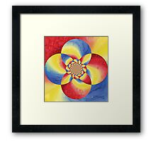 Fancy Bloom Framed Print