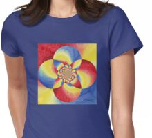 Fancy Bloom Womens Fitted T-Shirt