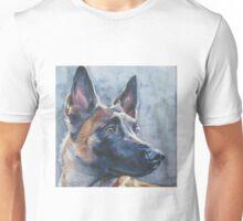 Belgian Malinois Fine Art Painting Unisex T-Shirt