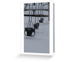 """""""Chill Swing"""" Greeting Card"""