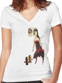 persona Women's Fitted V-Neck T-Shirt