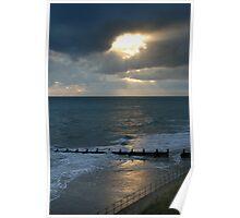 Sunrise at Overstrand Norfolk Poster