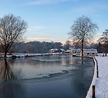 Coltishall in Winter by Gerry  Balding